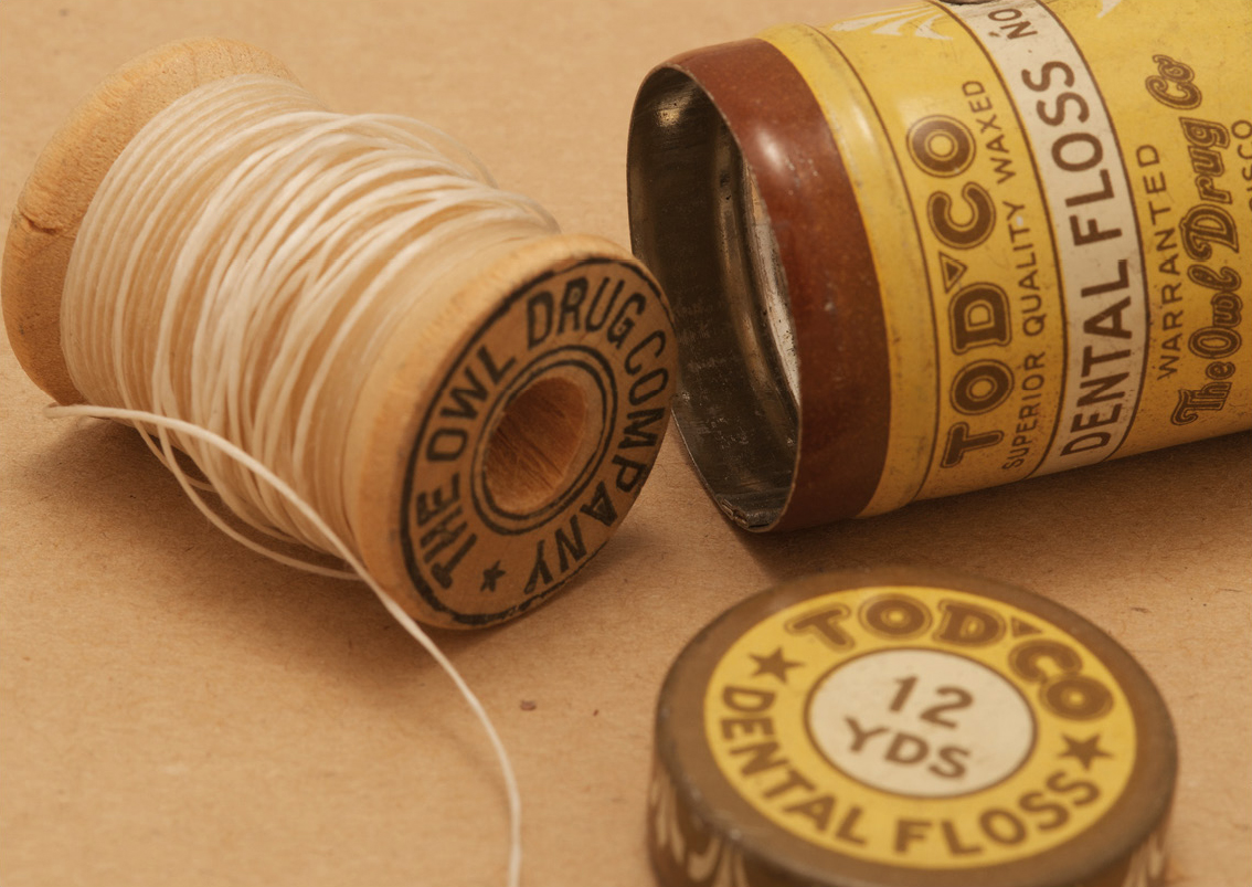 Tod Co Dental Floss (circa 1905)