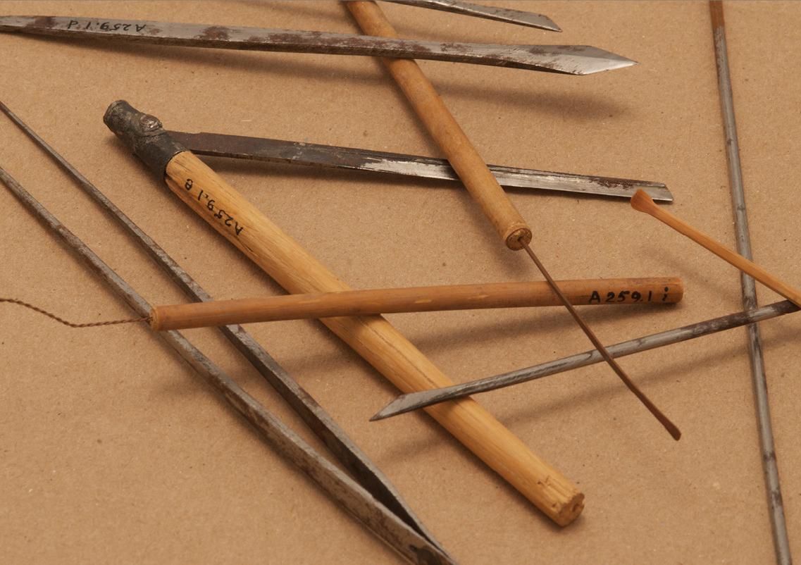 Chinese barber tools (circa 1910)