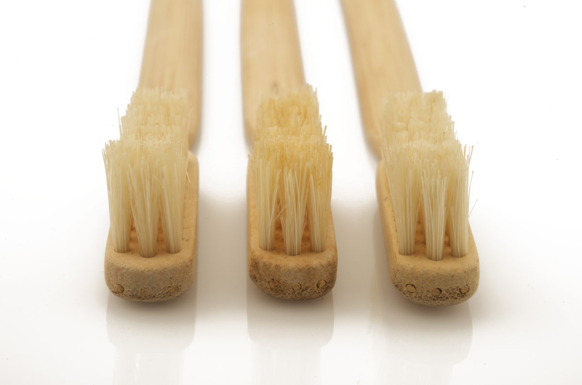 Japanese bamboo toothbrushes