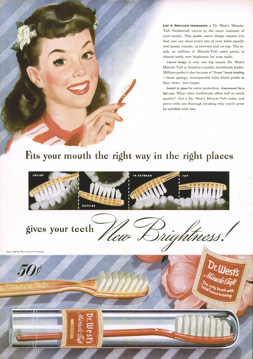 DuPont's Dr. West's ad (1946)