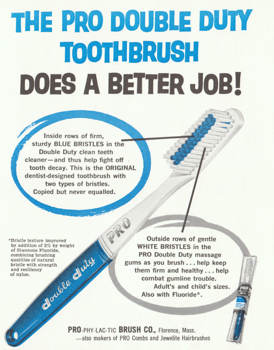 PRO Double Duty toothbrush ad