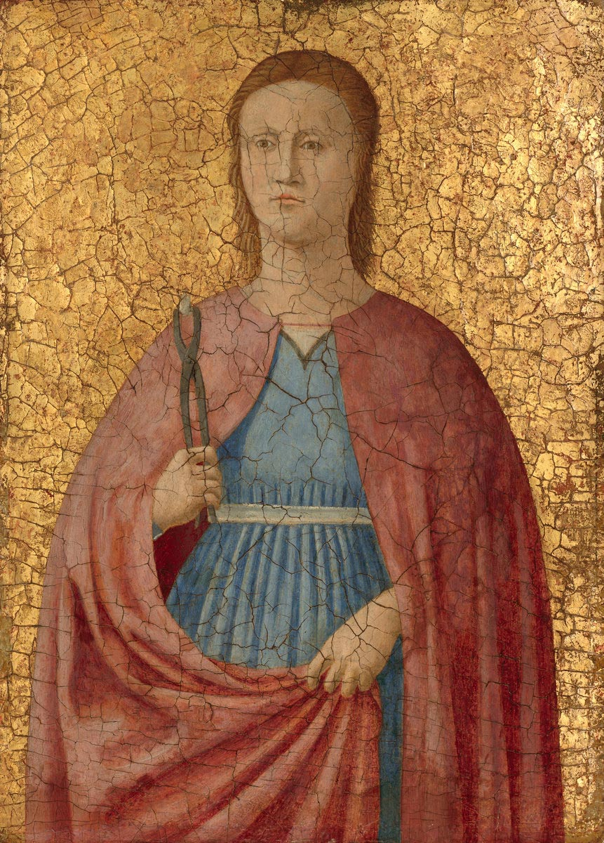 Piero della Francesca panel, fifteenth century