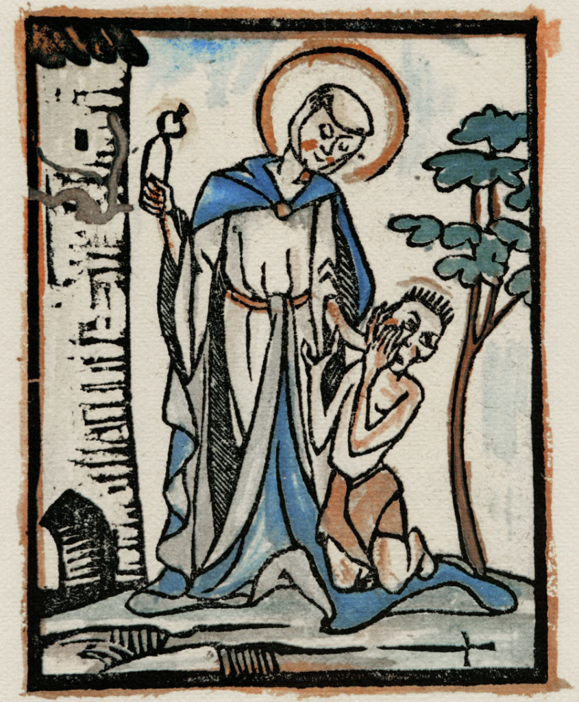 Compassion for toothache sufferer, fifteenth century