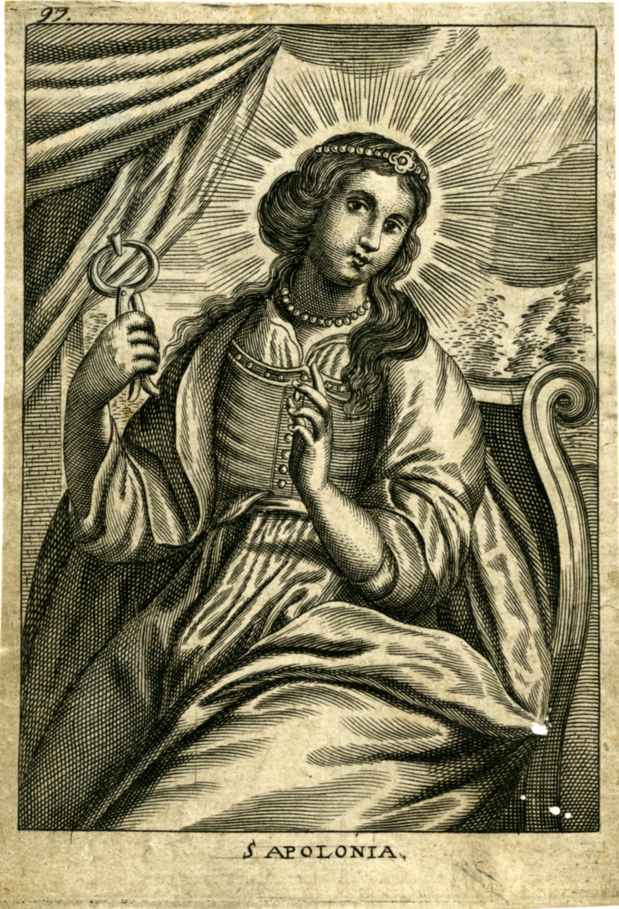 Dutch woodcut, seventeenth century